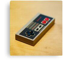 NES Controller Canvas Print