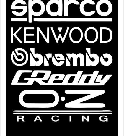 jdm sponsors Sticker