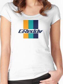 Greddy Women's Fitted Scoop T-Shirt
