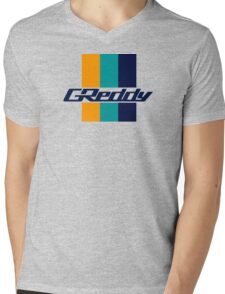 Greddy Mens V-Neck T-Shirt