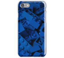 Blue Lego Bricks iPhone Case/Skin