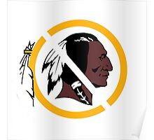 Anti Washington Redskins Poster