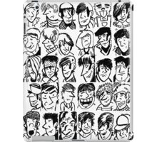 Face Collage  iPad Case/Skin