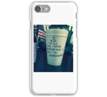 don't bother growing up iPhone Case/Skin
