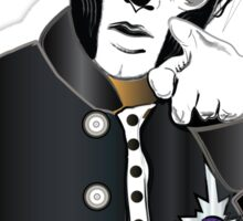 PAPA III - blue letters Sticker