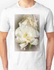 White Peony Unisex T-Shirt