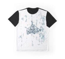 Submanatee print Graphic T-Shirt