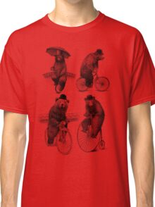 Bears on Bicycles Classic T-Shirt