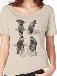 Bears on Bicycles Women's Relaxed Fit T-Shirt