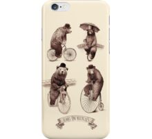Bears on Bicycles iPhone Case/Skin