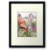"""Hey Carrots..."" Framed Print"