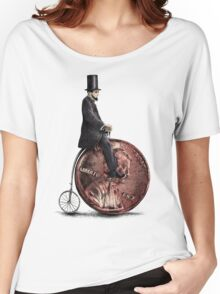 Penny Farthing option  Women's Relaxed Fit T-Shirt