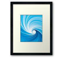 Holy wave Framed Print