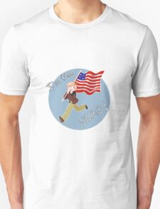 "Aph!America ""I'm The Hero"" Hetalia (1) Unisex T-Shirt"