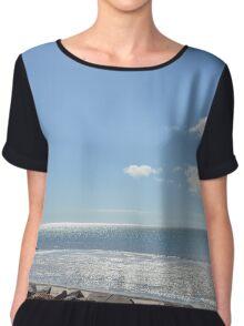 Beach Views  Chiffon Top