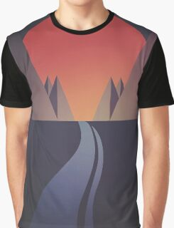 Sunset (The Hills) Graphic T-Shirt