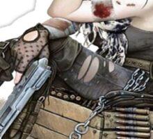 Apocalypse Survival Girl  Sticker