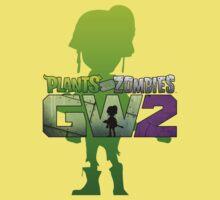 plants vs zombies garden warfare 2 One Piece - Short Sleeve