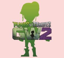 plants vs zombies garden warfare 2 Kids Tee
