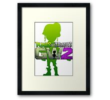 plants vs zombies garden warfare 2 Framed Print