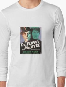 Dr.Jekyll and Mr. Hyde - Poster Long Sleeve T-Shirt