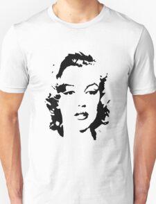 Marilyn Monroe #1 (black & white) Unisex T-Shirt