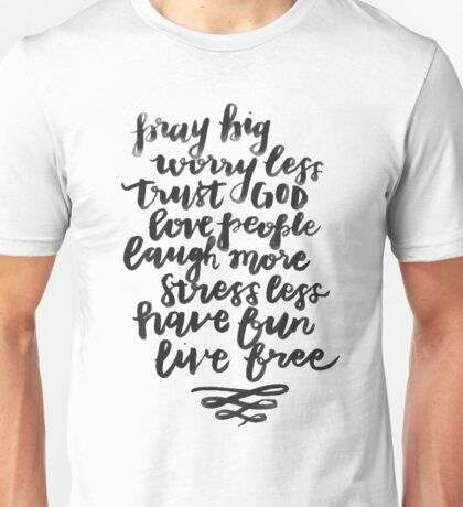 Seize the Day Recipe Unisex T-Shirt