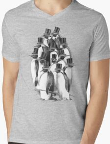 A Gathering of Gentlemen Mens V-Neck T-Shirt