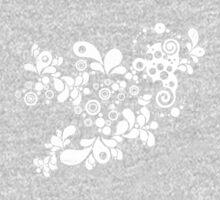 Cool Enchanting Summer - Vintage Twirls One Piece - Long Sleeve