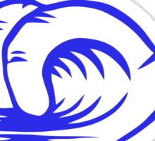 Shaka barrel Sticker