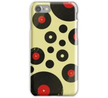 Vintage Vinyl Records Music DJ inspired design iPhone Case/Skin