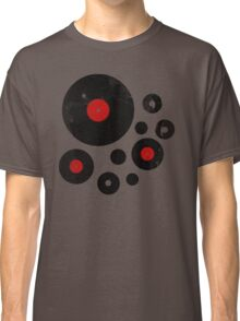 Vintage Vinyl Records Music DJ inspired design Classic T-Shirt