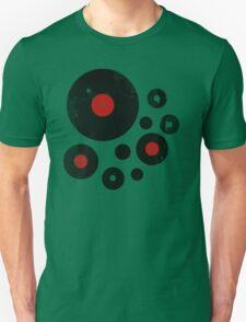 Vintage Vinyl Records Music DJ inspired design Unisex T-Shirt