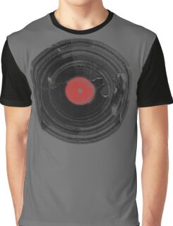 Vinyl Record Vintage Grunge Retro Graphic T-Shirt