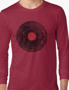 Vinyl Record Vintage Grunge Retro Long Sleeve T-Shirt