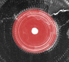 Vinyl Record Vintage Grunge Retro Sticker