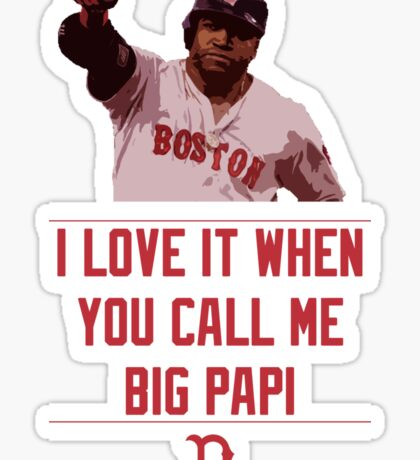 Big Papi Sticker