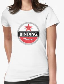 Bintang beer Womens Fitted T-Shirt