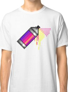 Spray paint - Pink Classic T-Shirt