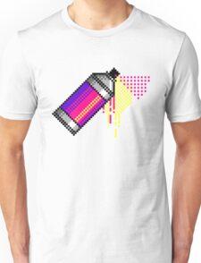 Spray paint - Pink Unisex T-Shirt