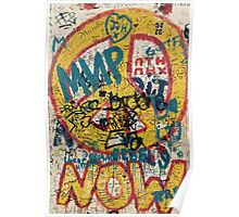 the berlin wall Poster