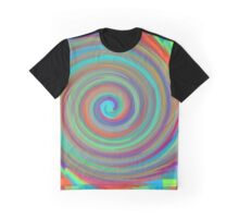 Hippy Twirl Trip Graphic T-Shirt