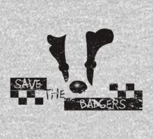 Save the Badgers One Piece - Long Sleeve