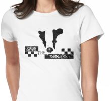 Save the Badgers Womens Fitted T-Shirt