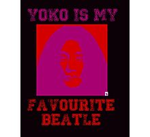 Yoko Is My Favourite Beatle Photographic Print