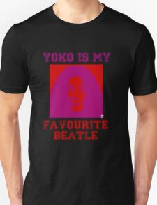 Yoko Is My Favourite Beatle Unisex T-Shirt