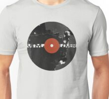 Vinyl Records Lover - Grunge Vinyl Record Unisex T-Shirt