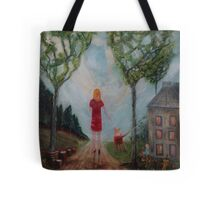 Home Behind Tote Bag