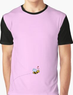 A Bee in Love Graphic T-Shirt