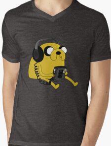 JAKE THE DOG Mens V-Neck T-Shirt